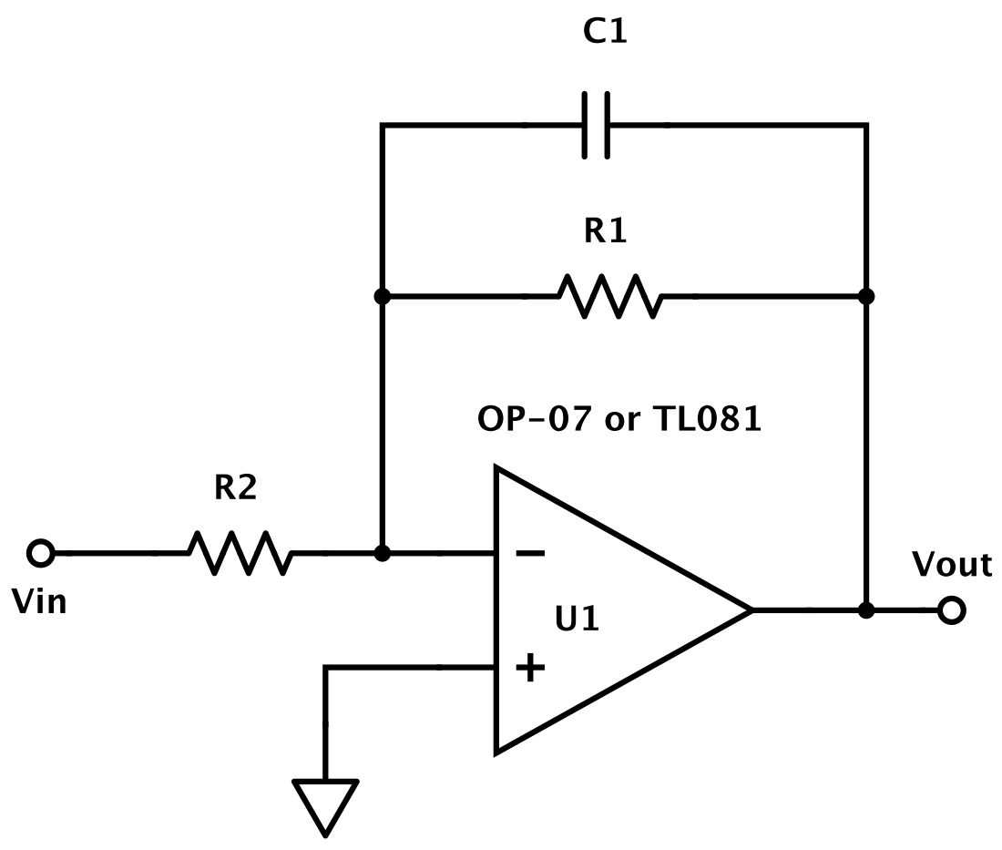 Op Amp Sig Cond Lab Voltage Amplifier Circuit Using Lowpass Filter